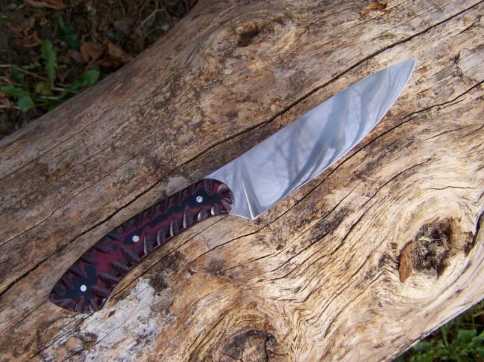 Couteaux sur mesure imputrescible